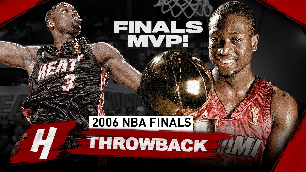 Dwyane Wade 1st Championship, Full Series Highlights vs Mavericks (2006 NBA Finals) - Finals MVP! HD
