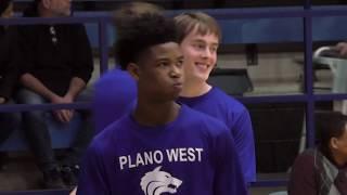 6320947216 Plano West vs Plano Sr Varsity Basketball 2018 2019