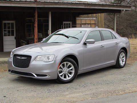 2015 Chrysler 300 Limited V6 Start Up, Road Test, and In Depth Review