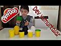 Play-doh Oyun Hamuru ile 4 tane Dev Sürpriz Yumurta Açma , Eğlenceli çocuk videosu