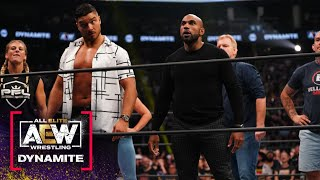 Chris Jericho \u0026 Jake Hager Challenge The Men of the Year \u0026 Dan Lambert | AEW Dynamite, 9/15/21