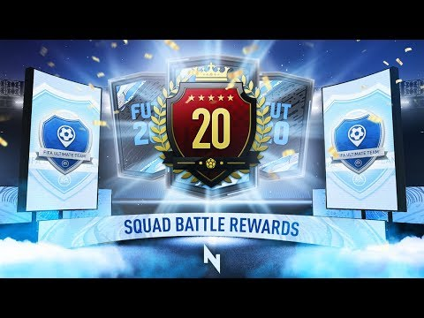 20th IN THE WORLD! TOP 100 SQUAD BATTLES REWARDS - FIFA 20 Ultimate Team