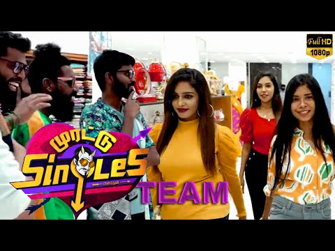 Saree கட்டி விளையாடலாம் வாங்க.., MAKAPA With Morattu Single Team - Fun Overload..! | New Game | HD