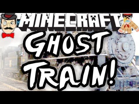 Minecraft GHOST TRAIN BATTLE ! Clay Soldiers #124 !