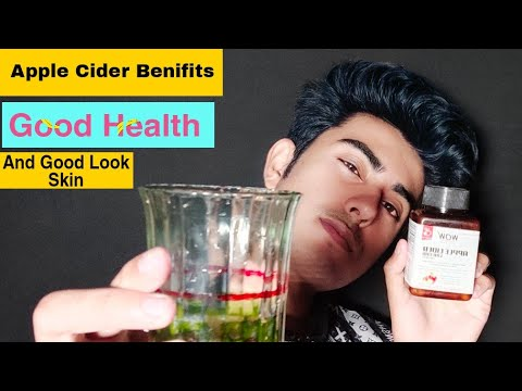 WOW Organic Raw Apple Cider Vinegar | amazing benefit for health and look improvement