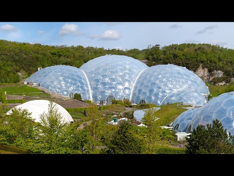 Eden Project: a visit in under a minute