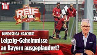 Leipzig vs. Nagelsmann, Flick-Traumstart und Messi-Tränen | Reif ist Live