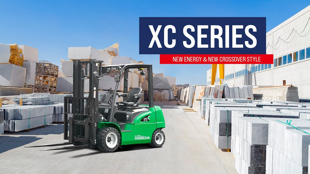 HCTV - Hangcha New Crossover Style - XC Series Lithium Battery Forklift (Performance)