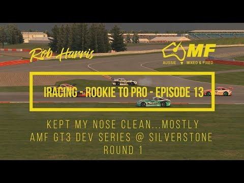 iRacing - Rookie To Pro - Episode 13 - Kept My Nose Clean...Mostly - AMF GT3 Dev Series