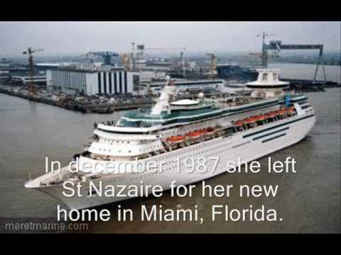Sovereign Of The Seas History Tribute YouTube - Ms sovereign cruise ship