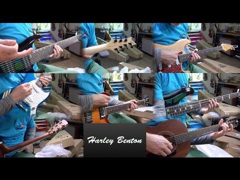 8 Harley Benton Guitars - Unboxing and 1st Impression