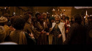 Дастан дарит царю мантию. Царь предлагает Дастану женится. Смерть царя. Побег Дастана и Тамины. HD