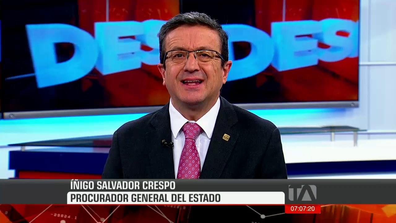 "Entrevista al procurador del Estado, Íñigo Salvador, sobre caso ""Sobornos 2012-2016"""