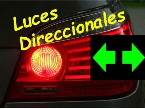 Luces Direccionales Explicaci 243 N De Funcionamiento Y