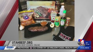 Utah Beef Council - Grilled Flat Iron Steaks with Homemade Steak Sauce