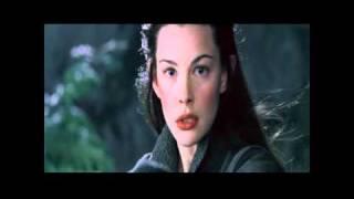 Arwen foge com Frodo - O Senhor dos Anéis - A Sociedade do Anel