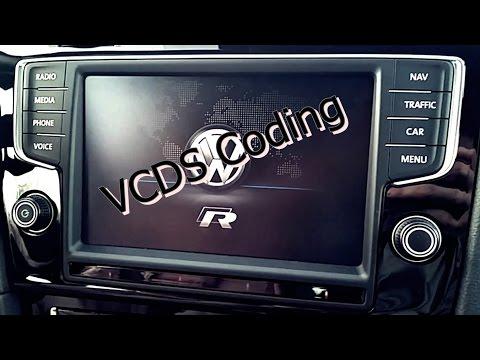 Golf 7 VII R GTI coding diverse codierungen VCDS