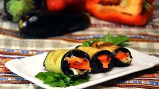 ТЕЩИН ЯЗЫК вкуснейшая закуска из баклажанов  | Тёщины Рецепты 🎬