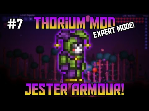 Jester Armour! Thorium Mod Expert Mode Let's Play! ||Episode 7||