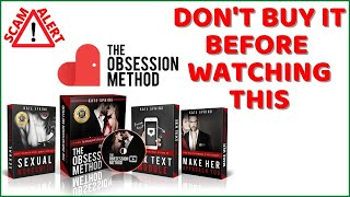 [WEBSITE DOWNLOAD] The Obsession Method Best Review – Legit or Scam? Massive Discount + Benefits