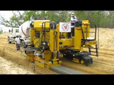 Gomaco Gt 3600 Concrete Curb Amp Gutter Slipform Machine
