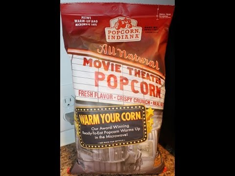 Popcorn Indiana: Movie Theater Popcorn Food Review - 동영상