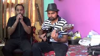 Falak Dekhun by amit nd virk on Guitar