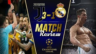 Real Madrid 1-1 Juventus Champions League Match Review || Juventus ROBBED! || Juventus Heartbreak
