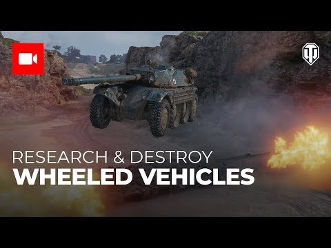 Research & Destroy: Wheeled Vehicles