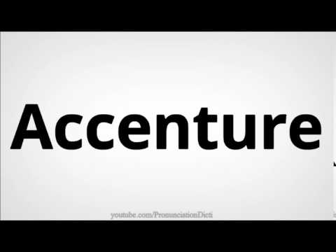 how to pronounce accenture