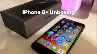 Unboxing: iPhone 8 Plus (Space Gray)