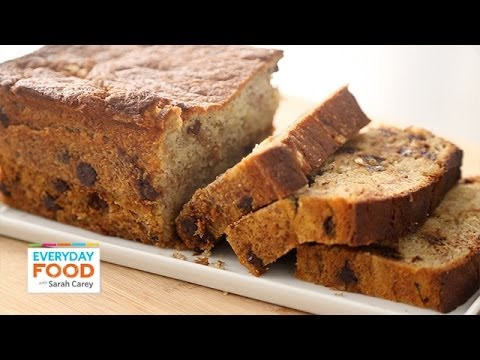 Chocolate chip banana bread everyday food with sarah carey youtube chocolate chip banana bread everyday food with sarah carey forumfinder Choice Image