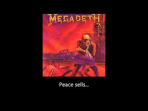 Megadeth - Peace Sells (Lyrics)