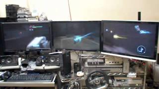 3 Monitors : Darksiders