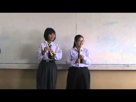 ครูกิตติ  อินทกรณ์ : เพลงชาติ ขลุ่ยรีคอร์เดอร์ ( กิ๊ฟ   จิราพัชร )