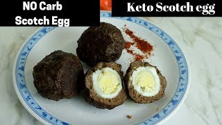 No Carb Scotch  Egg | Keto Scotch egg | Keto meal | Keto Snack