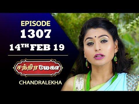 CHANDRALEKHA Serial | Episode 1307 | 14th Feb 2019 | Shwetha | Dhanush | Saregama TVShows Tamil thumbnail