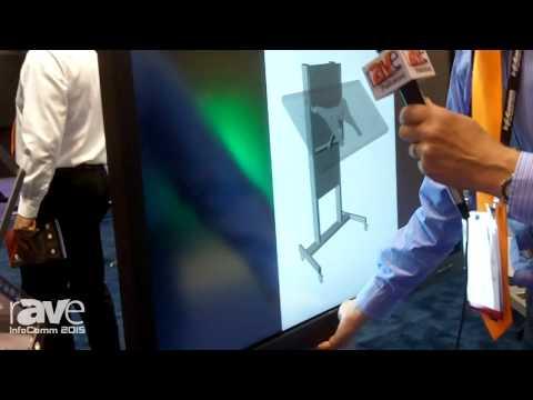 InfoComm 2015: Thomas Regout International Showcases BalanceBox Height Adjustable Mount