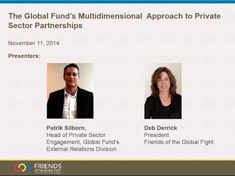 The Global Fund's Multidimensional Approach to Private Sector Partnerships