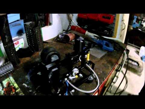 pneumatický motor z lega / pneumatic motor from lego