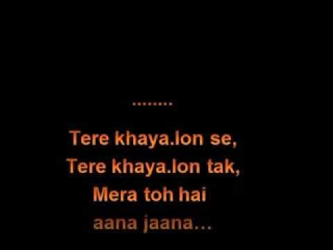 Mai Rang Sharbaton Ka   Karaoke   Atif Aslam   Shahid Kapoor   Ileana
