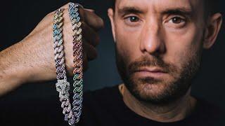 Making A Rainbow Cuban Chain 🌈💎