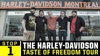 Harley Davidson Freedom Tour - Ep 1