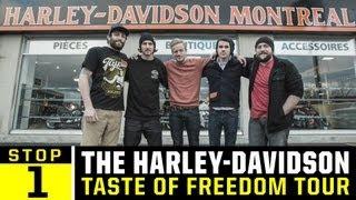 Harley Davidson Freedom Tour - Ep 1