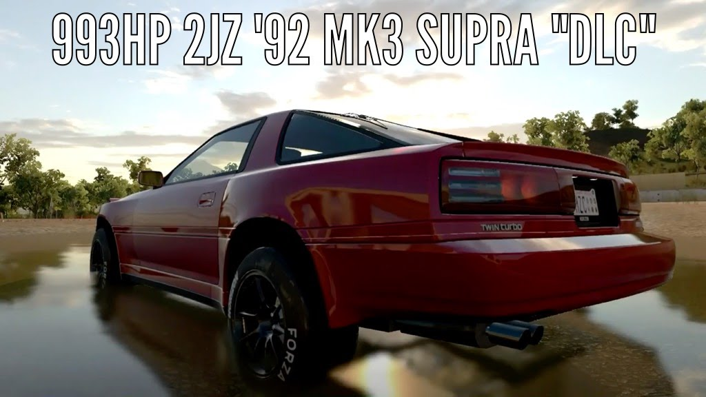 Forza Horizon 3 | 993HP 2JZ '92 MK3 Supra // Street Build, Tuning ...