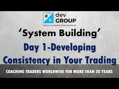 Trade Empowered | Intro To Building A Trading System - Day 1 - Consistency