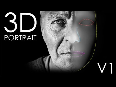 After Effects Template : 3D Portrait - YouTube