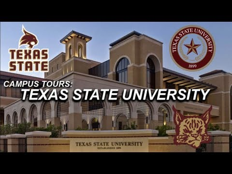 TEXAS STATE UNIVERSITY // Campus Tour