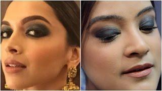 Deepika Padukone Inspired Makeup Look | GRWM in Collaboration With Sareez.com