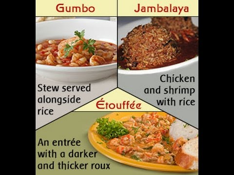 Gumbo Vs Jambalaya Vs Etouffee How Exactly Do They Differ Youtube